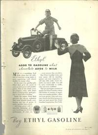 1932 GOOD HOUSEKEEPING MAGAZINE ADVERTISEMENT FOR ETHYL GASOLINE