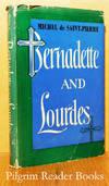image of Bernadette and Lourdes.