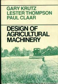 DESIGN OF AGRICULTURAL MACHINERY.