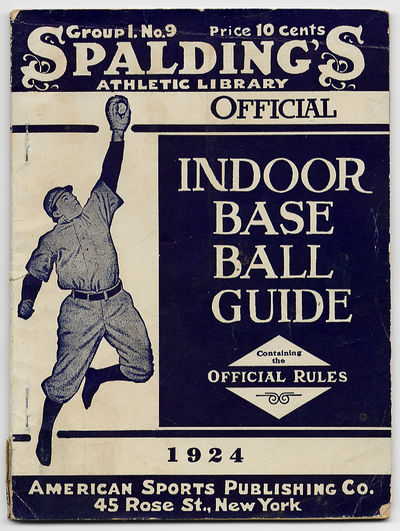New York: American Sports Publishing Company, 1924. Softcover. Very Good. First edition. Stapled wra...