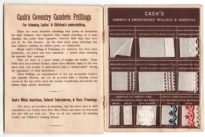 New York: J and J Cash, 1890. First Edition. Pamphlet. Very good. 18p + illustrated covers with atta...
