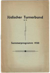 image of Jüdischer Turnerbund Sommerprogramm 1930.