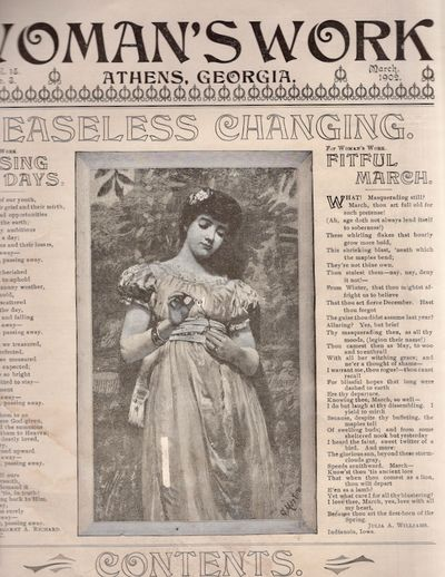 Athens: T. L. Mitchell, Publisher, 1902. Original. Periodical. Good. Periodical. Single issue. Appro...