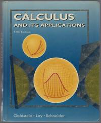 Calculus and Its Applications: fifth edition