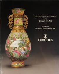 Fine Chinese Ceramics And Works Of Art. Auction 8470. New York, Thursday, September 19, 1996
