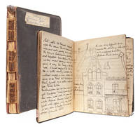 Manuscript diary of consul's daughter during her education in Hanover