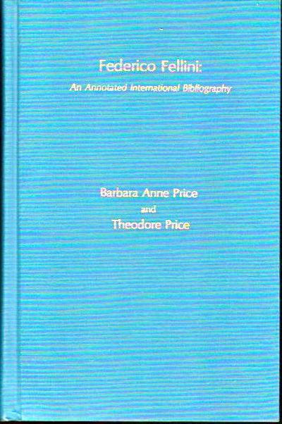Metuchen: Scarecrow Press, 1978. Hardcover. Very Good. viii, 274pp+ index. Very good hardback bound ...