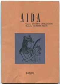 Aida: Opera in Four Acts