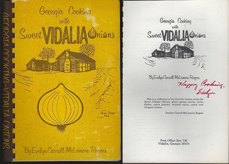 GEORGIA COOKING WITH SWEET VIDALIA ONIONS, Carroll-Mclemore Rogers, Evelyn