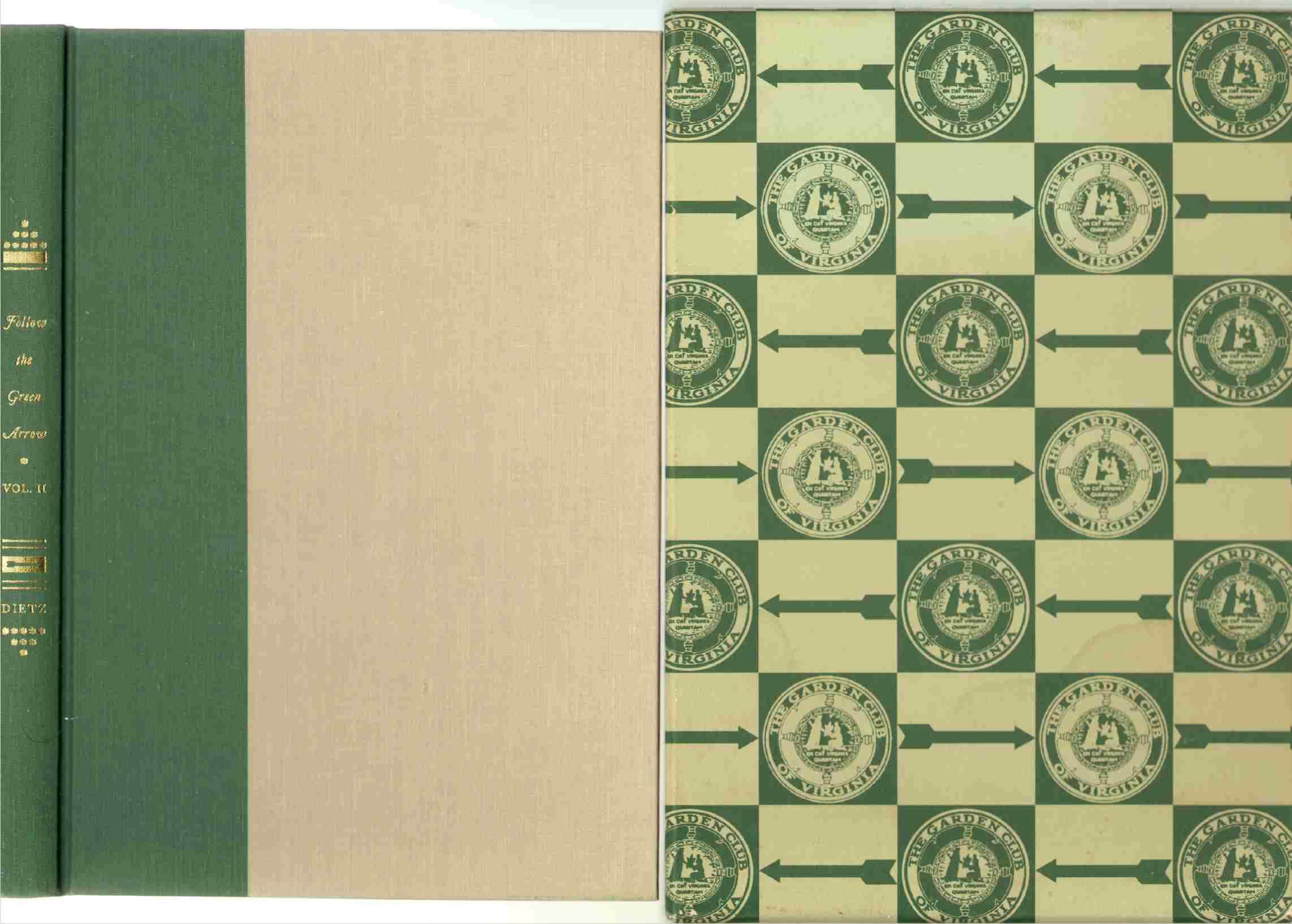Follow the green arrow the history of the garden club of for Garden club book by blackbird designs