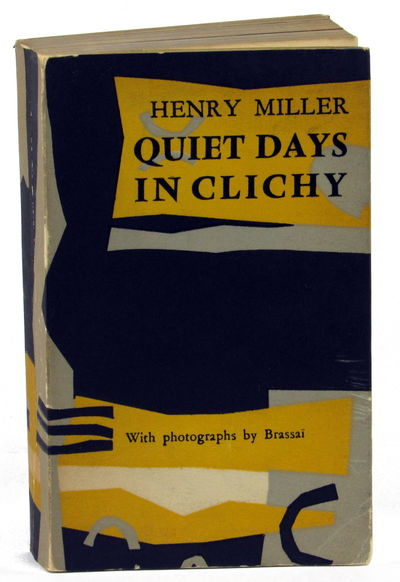 Paris: Olympia Press, 1956. Paperback. Very good. First Edition.Illustrated with photographs by Bras...