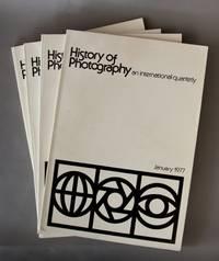 History of Photography, Vol. 1 No. 1 - Vol. 1 No. 4.