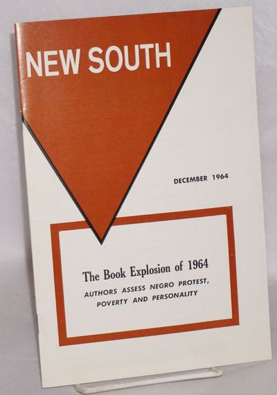 Atlanta: Southern Regional Council, 1964. Magazine. 24p. including covers, 6x9 inches, illustrations...