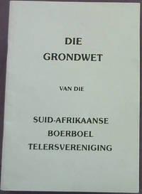 image of Die Grondwet van die Suid-Afrikaanse Boerboel Telersvereniging