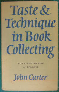 image of Taste & Technique in Book Collecting
