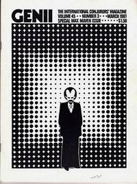 image of Genii: The International Conjurors Magazine: March 1981