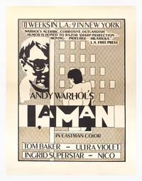 I, a Man (Original poster for the 1967 film)