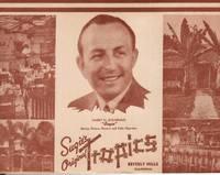 Souvenir Photo and Folding Card from Sugie's (Harry M. Sugarman) Original Tropics, Beverly Hills, California ca 1940s