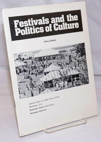 Washington DC: National Center for Urban Ethnic Affairs / Milwaukee Hispanic Arts Council. Pamphlet....