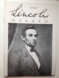 Lincoln Herald: Fall 1974  Volume 76, No. 3