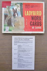 image of Ladybird Work Cards - Part Set - 47 Cards - English Comprhension and Study - Second Set / Box 1