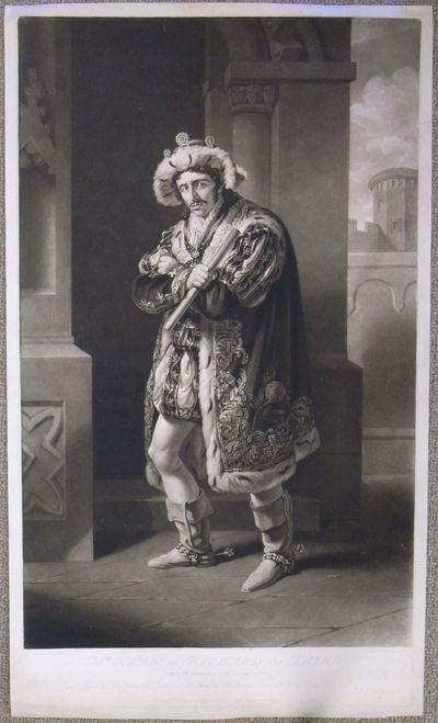 (Kean, Edmund). Mr. Kean in Richard the Third. Act IV. Scene 4 -