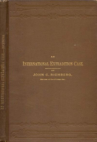 Chicago: Printed by the Chicago Legal News Company, 1893. First Edition. Hardcover. Very good. Octav...