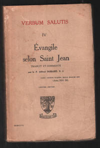 image of Verbum salutis : Évangile selon Saint Jean
