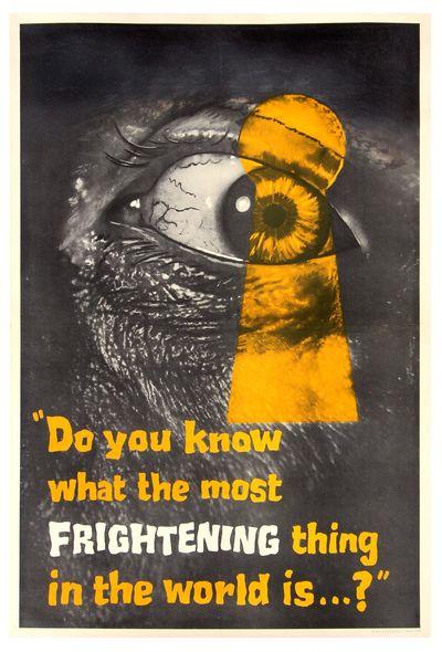 PEEPING TOM (1960) UK advance double...