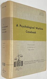image of A psychological warfare casebook