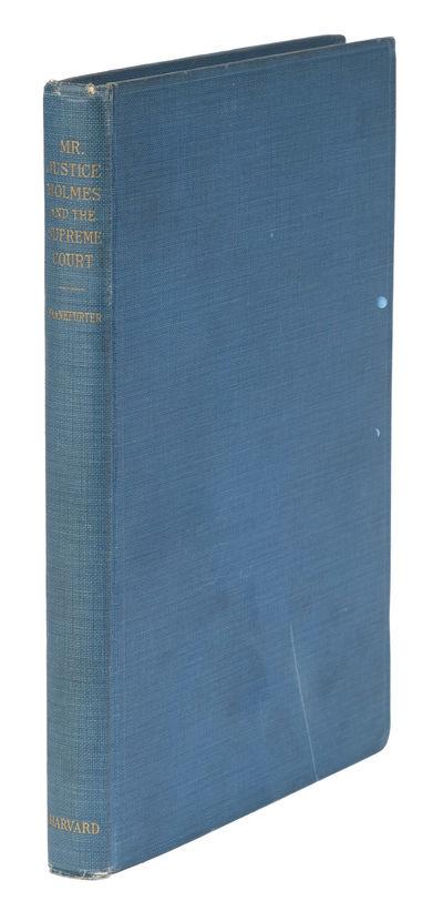 1938. Signed by Felix Frankfurter. Signed by Felix Frankfurter. Signed by Frankfurter Frankfurter, F...