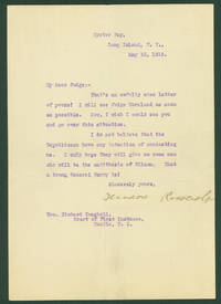 Theodore Roosevelt Downplays His Nomination Prospects in 1916