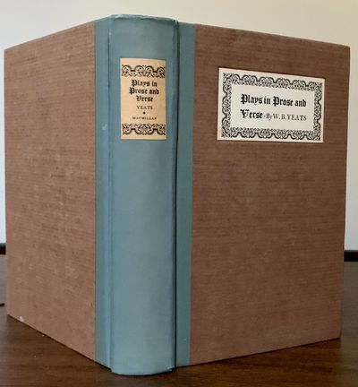 New York: Macmillan, 1924. New and Revised Edition. Hardcover. Orig. teal cloth spine, textured brow...