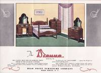 image of A Scarce Vintage Advertising Brochure for the Deanna Bedroom Suite No. 790  from the High Point Furniture Company