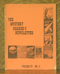 THE MYSTERY READER'S NEWSLETTER - VOLUME IV - NO. 4, MAY, 1971