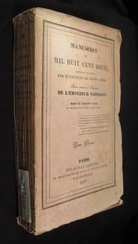 Manuscrit de Mil Huit Cent Douze, Contenant le Precis des Evenemens de Cette annee pour servir a L'Histoire de L'Empereur Napoleon