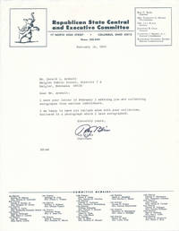 Typed Note Signed / Inscribed Photograph Signed