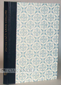 Roslyn, NY: Stone House Press, 1985. quarter cloth with printed paper-covered boards. Stone House Pr...