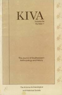 image of Kiva: The Journal of Southwestern Anthropology and History Volume 54, Number 1, 1988