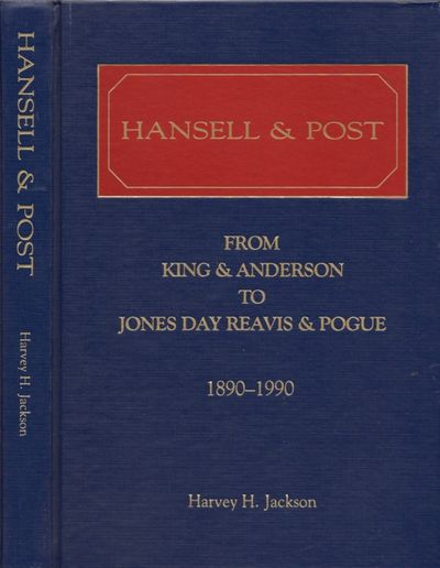 : Hansell & Post, 1989. First Edition. Hardcover. Very good. Quarto. x, 289 pages. Blue hardcover wi...