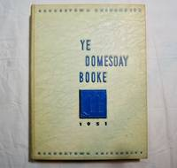 The Domesday Book 1951 Original Georgetown University Yearbook Washington DC