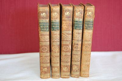 Paris: Briand. Original Calf. A Very Good Matched Set/No Dust Jacket as Issued. 12mo - over 6¾
