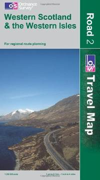 Western Scotland and the Western Isles (OS Travel Map - Road) (OS Travel Map - Road Map)