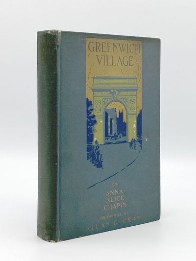 New York: Dodd, Mead and Company, 1920. Hinges cracked, covers a bit dull. 8vo. 301 pages. Folding m...