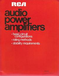 RCA Audo Power Amplifiers (APA-550)