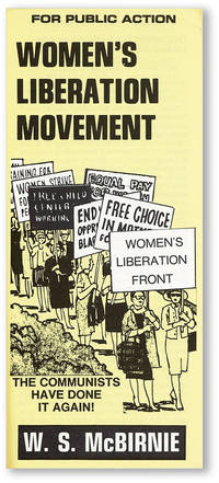 Women's Liberation Movement: The Communists Have Done It Again!