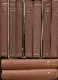 The Oxford Illustrated Crown Edition Trollope; [Can You Forgive Her? , 2  Vols, Phineas Finn, 2 Vols, the Eustace Diamonds, 2 Vols, Phineas Redux, 2  Vols, the Prime Minister, the Duke's Children, the Warden, 2 Vols,  Barchester Towers, 2 Vols. ] 15 Volume Set