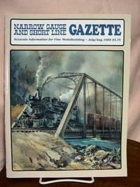 image of NARROW GAUGE AND SHORT LINE GAZETTE - JULY/AUGUST, 1989; VOLUME 15, NUMBER 3