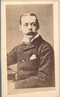 image of Fine unsigned carte de visite photo (Lord Randolph, 1849-1895, Chancellor of the Exchequer, Father of Winston)]