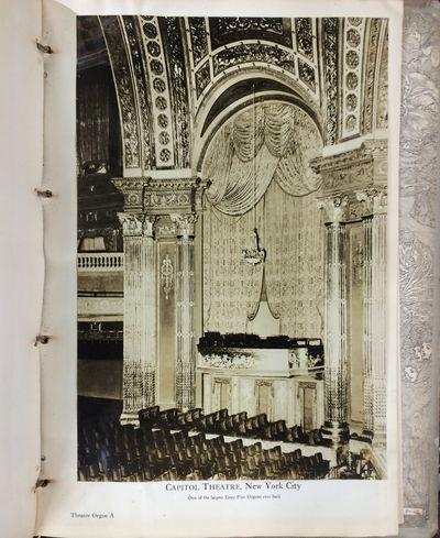Brattleboro, VT: Estey Organ Company. Very Good. Hardcover. A pipe organ catalogue and reference pub...